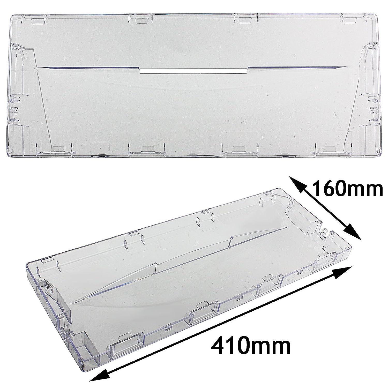 Spares2go Tapadera para cajón de plástico, con tirador frontal ...