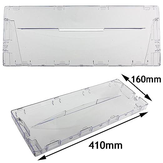 Spares2go - Tapa de plástico para cajón delantero para frigorífico ...
