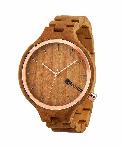 Wood Watch wooden wristwatch Eldorado Cherry