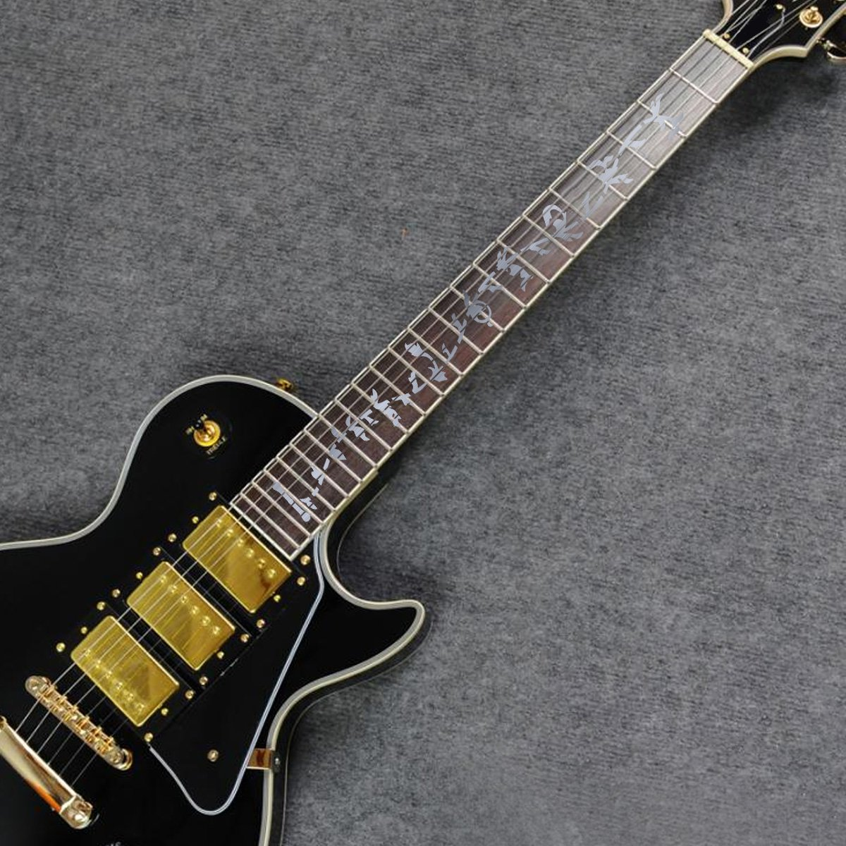 ROSENICE Pegatinas de Guitarra, para Guitarra o Bajo Cuello Forma de ...