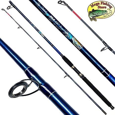 Mega Fishing Pilk 220 - Caña de Pescar para Barcos (2,20 m, 100 ...
