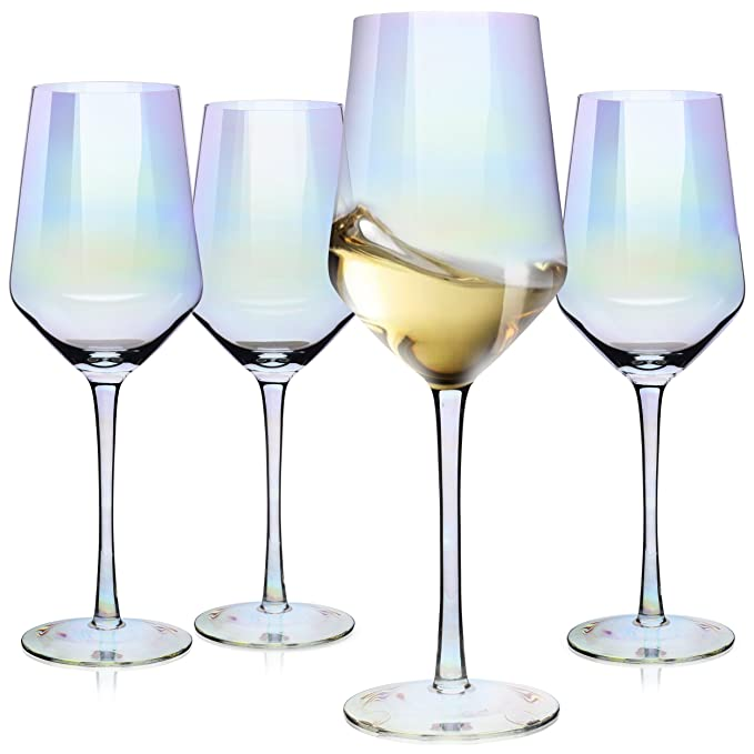 Awesome Long Stem White Wine Glasses