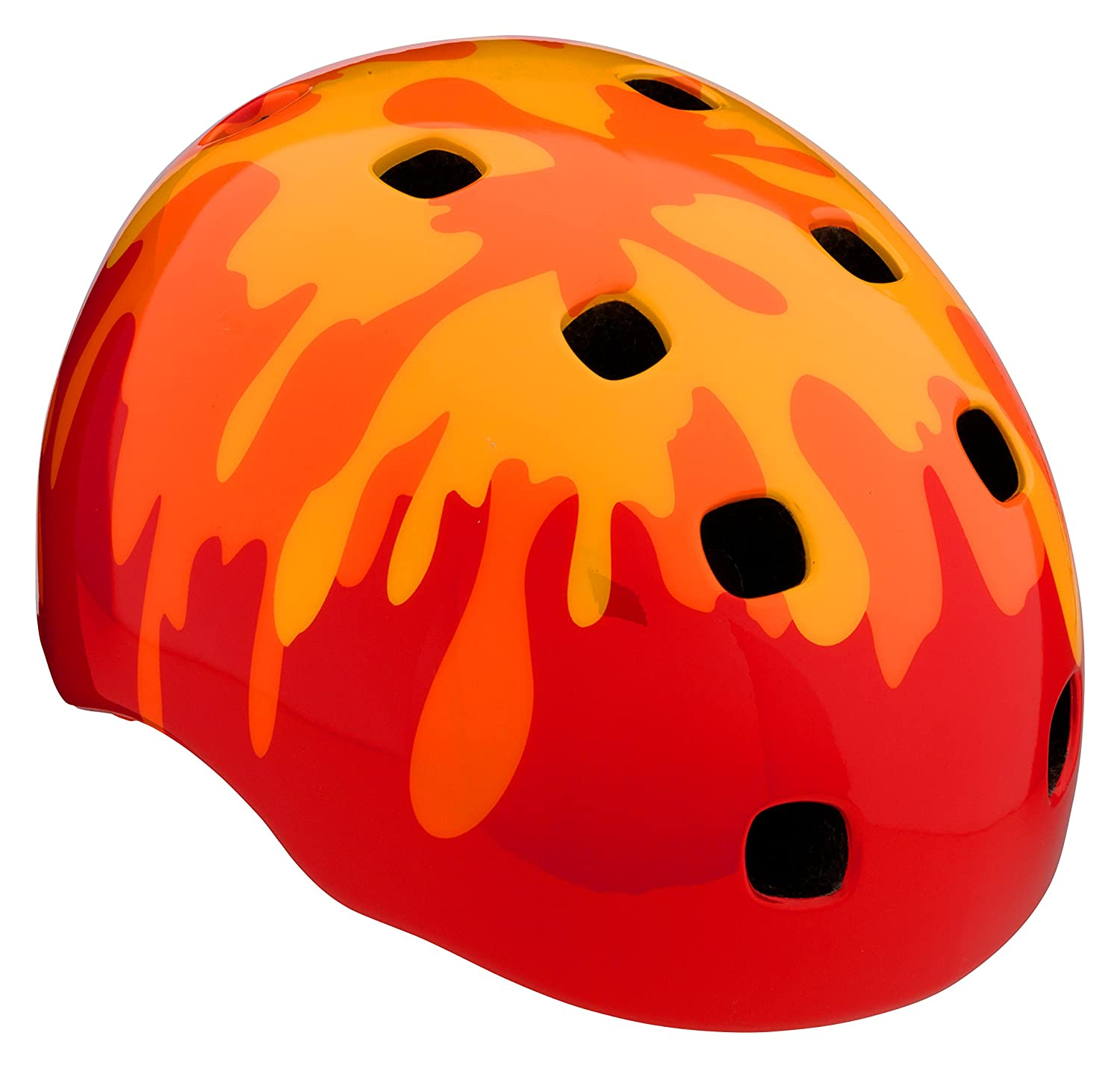 orange Schwinn Burst Toddler Helmet