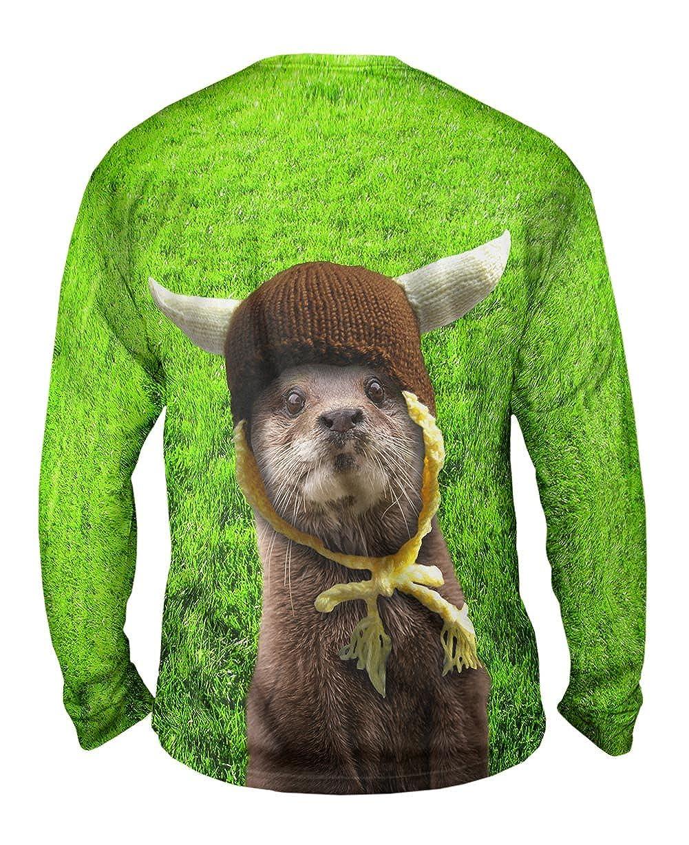 Yizzam Odder Otter Mens Long Sleeve TShirt