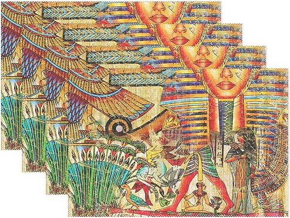baihuishop Vintage arte de Egipto Faraón 12 x 18