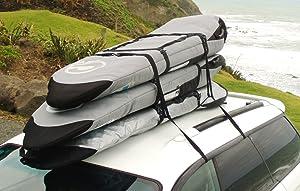 Curve Surfboard Soft Rack - Surfboard Car Racks for Travel (Set of 2)