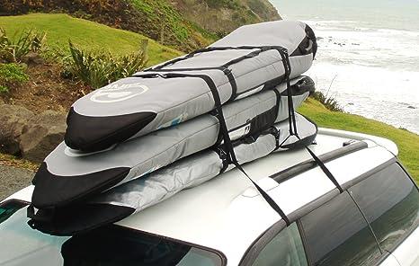 Surf Rack For Car >> Amazon Com Surfboard Soft Rack Surfboard Car Racks For Travel By