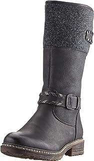 Rieker Damen Stiefeletten gefüttert Grau, Schuhgröße:EUR 39