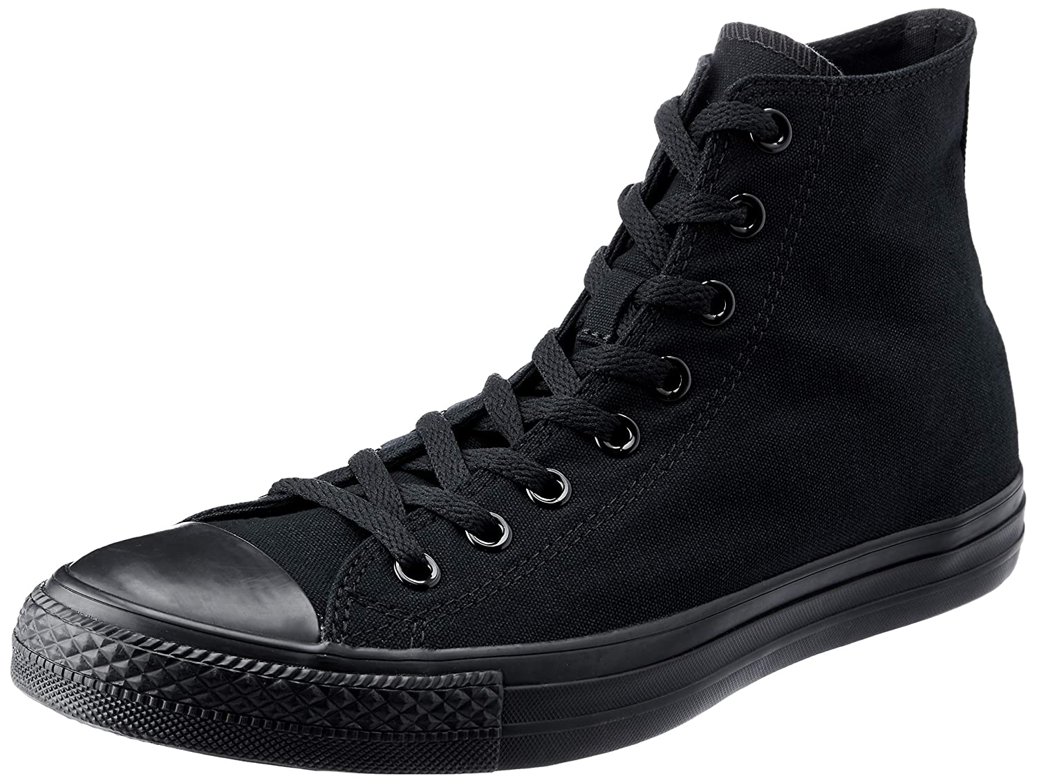678eb4785b Amazon.com | Converse Chuck Taylor All Star Hi Top Black Monochrome, 7.5  B(M) US Women / 5.5 D(M) US Men | Fashion Sneakers