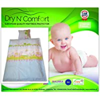 """Baby Crib Duvet Cover Set LITTLE PRINCESS- 100% COTTON Duvet Cover Set - 3 Pieces- Duvet Cover Size 39"""" x 59""""- 2 Pillow covers Size 14"""" x 18"""" - Dry N Comfort"""
