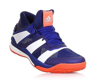 new style 1bb1b e3cc5 adidas Stabil X Mid, Chaussures de Handball Homme, Multicolore  (TinmisFtwbla