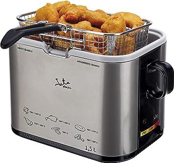 JATA FR326E Metal Deep Fat Fryer, 1,5 Litre: Amazon.co.uk ...