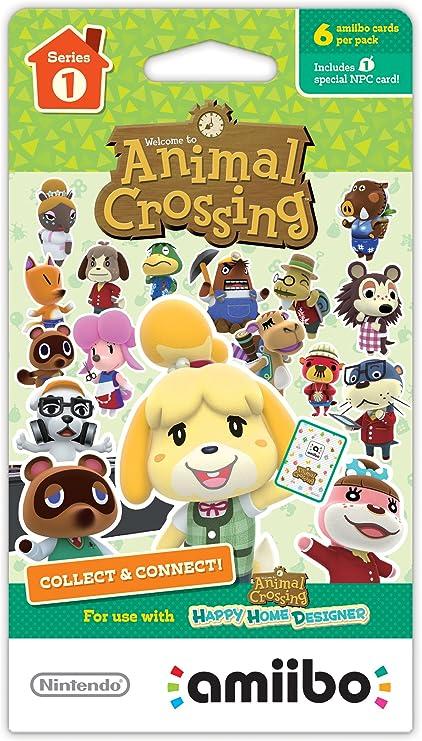 Nintendo Animal Crossing Cards - Series 1 - Juego de Cartas ...