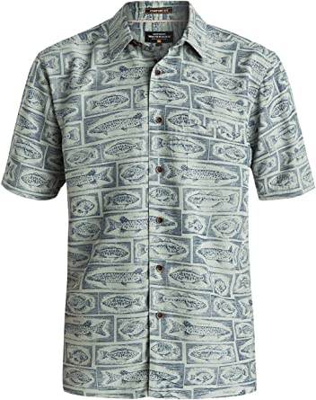 Quiksilver Mens Waterman Bump The Stump - Short Sleeve Shirt Short Sleeve Shirt Green S: Amazon.es: Ropa y accesorios