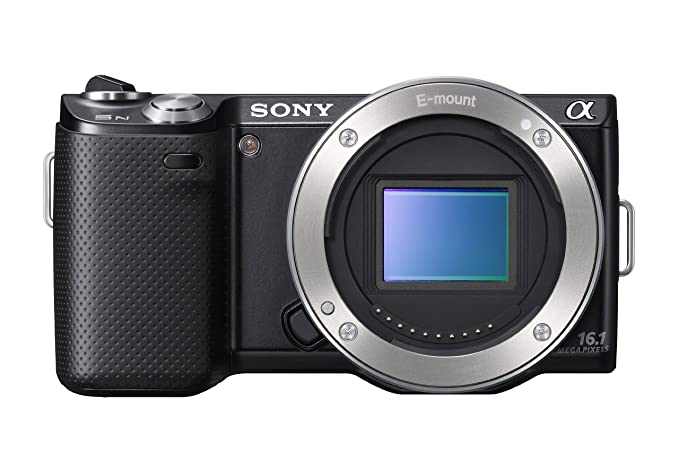 Sony NEX-5N 16 1 MP Mirrorless Digital Camera with Touchscreen - Body Only  (Black)