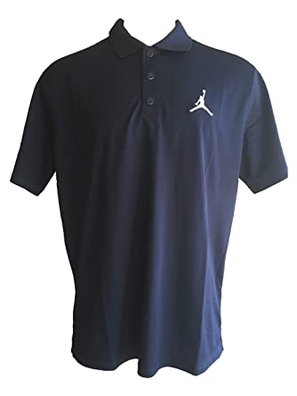 f5b0a0c3b2d NIKE Men's Jordan Dri-Fit Team Polo Golf Style Short Sleeve Polo Shirts  (X-Large, Navy/White) at Amazon Men's Clothing store: