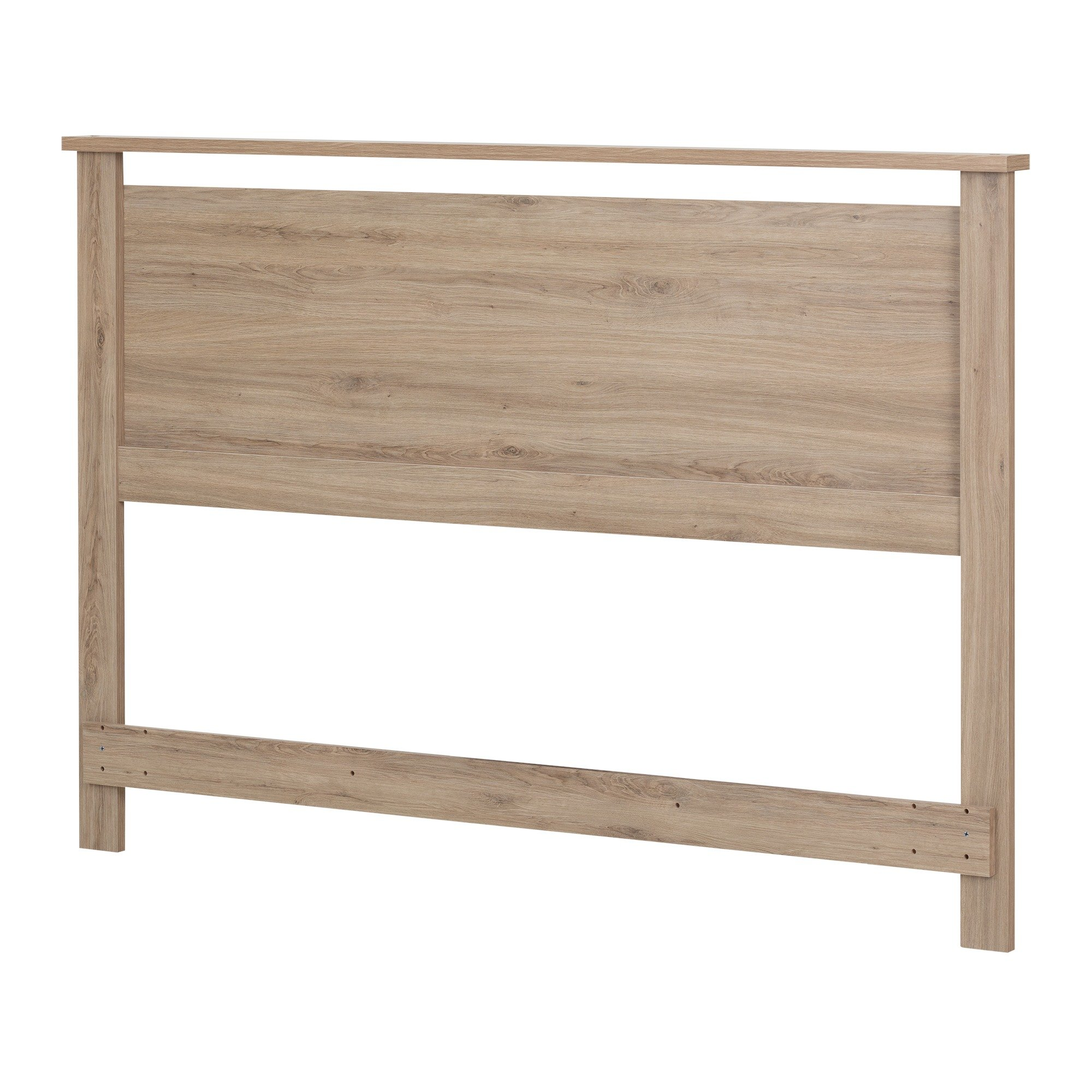 South Shore Primo Full/Queen Headboard (54/60''), Rustic Oak
