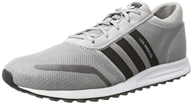 110a88b060381 adidas Men's Los Angeles Low-Top Sneakers, Grey: Amazon.co.uk: Shoes ...