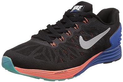 1b374c7fe0411 ... sweden nike mens lunarglide 6 black running shoes 8.5 uk india 43 eu  dcd4e 6abbf