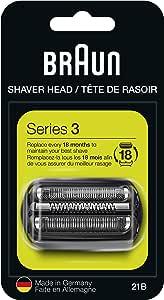 Braun Repuesto De Afeitadora 21B, Negro, Compatible Con Los ...