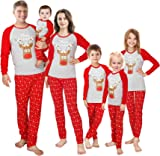 Family Matching Christmas Pajamas Sleepwear Set