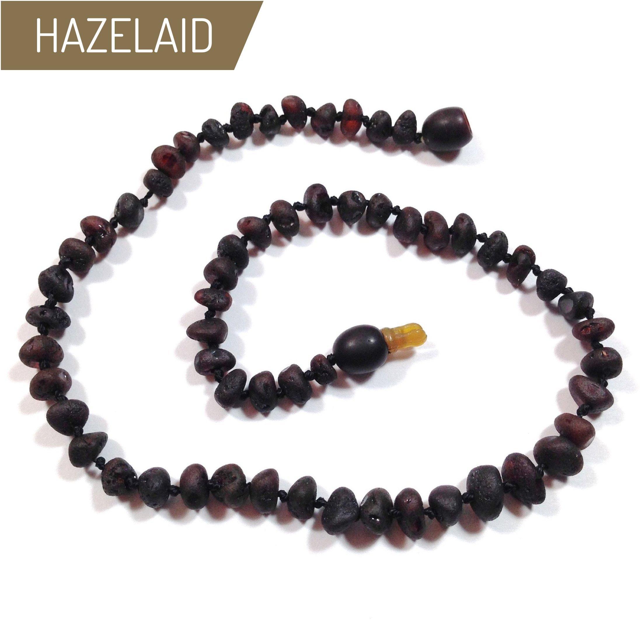 Hazelaid (TM) 12'' Pop-Clasp Baltic Amber Coffee Necklace