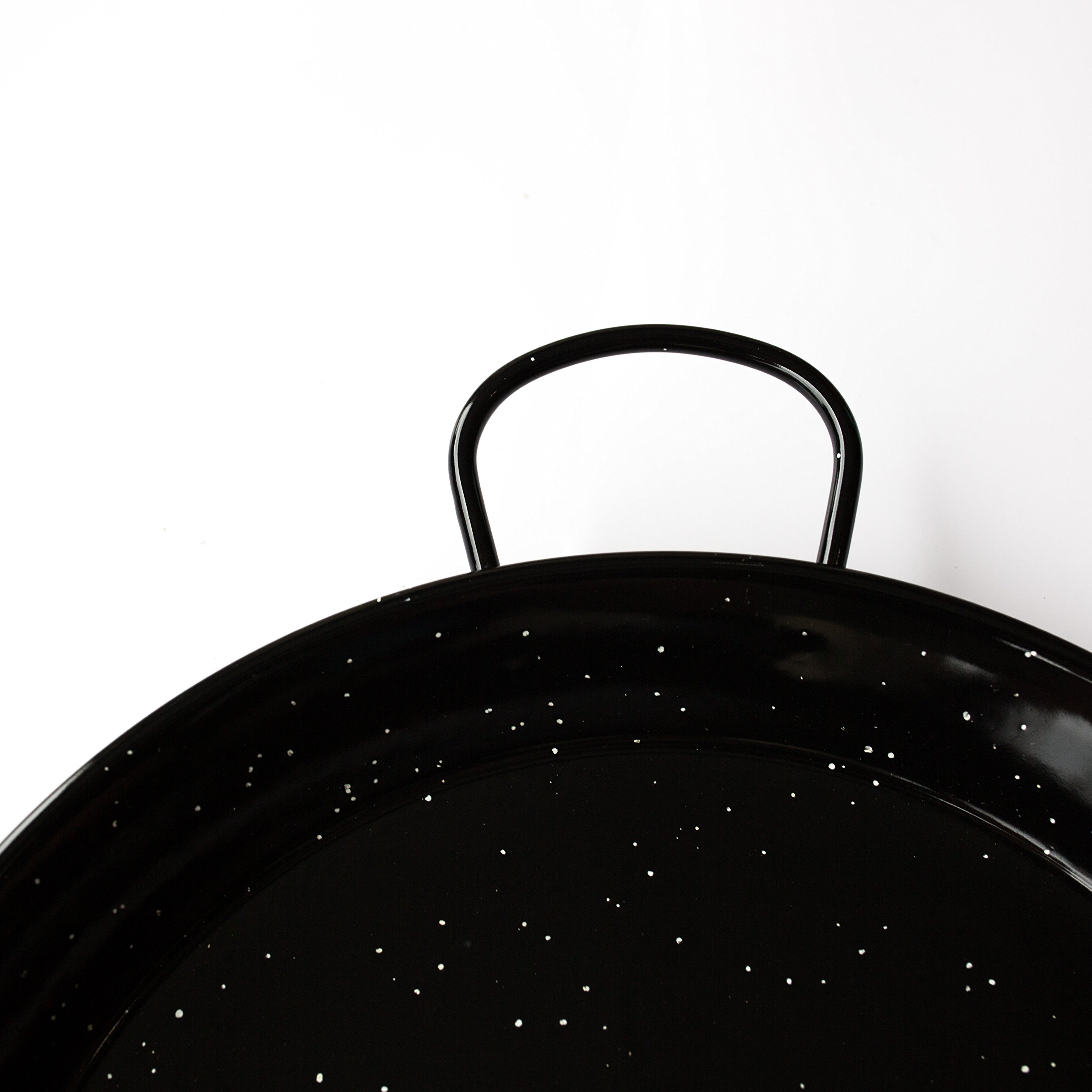 Enamelled Steel Valencian paella pan 12Inch / 30cm / 4 Servings by Castevia Imports (Image #3)