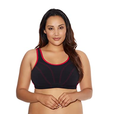 d63761eb2 Goddess Women s Plus-Size Soft Cup Sports Bra at Amazon Women s Clothing  store
