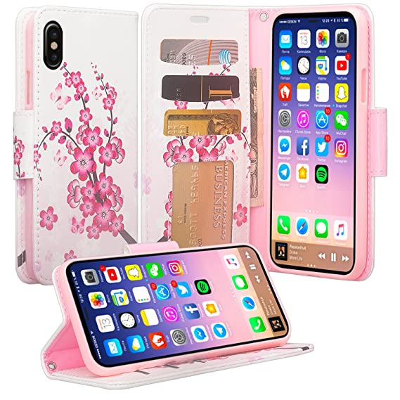new concept f4ce0 bac1e Amazon.com: SOGA Cover Compatible for Apple iPhone Xs Case, iPhone X ...