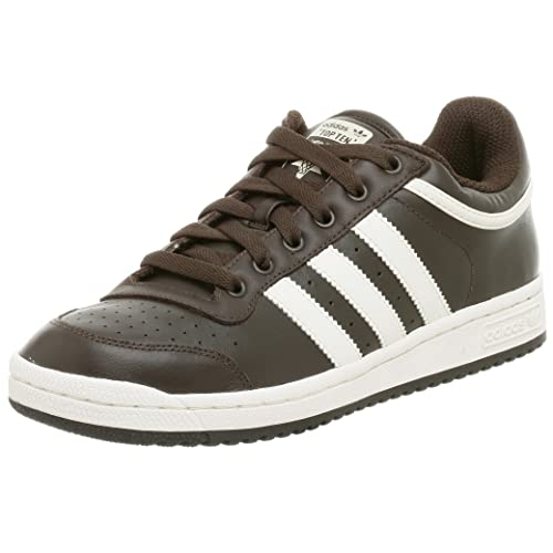 Parcialmente compartir Factor malo  Buy adidas Originals Men's Top Ten Lo Sneaker, Brown/Chalk, 5.5 M at  Amazon.in