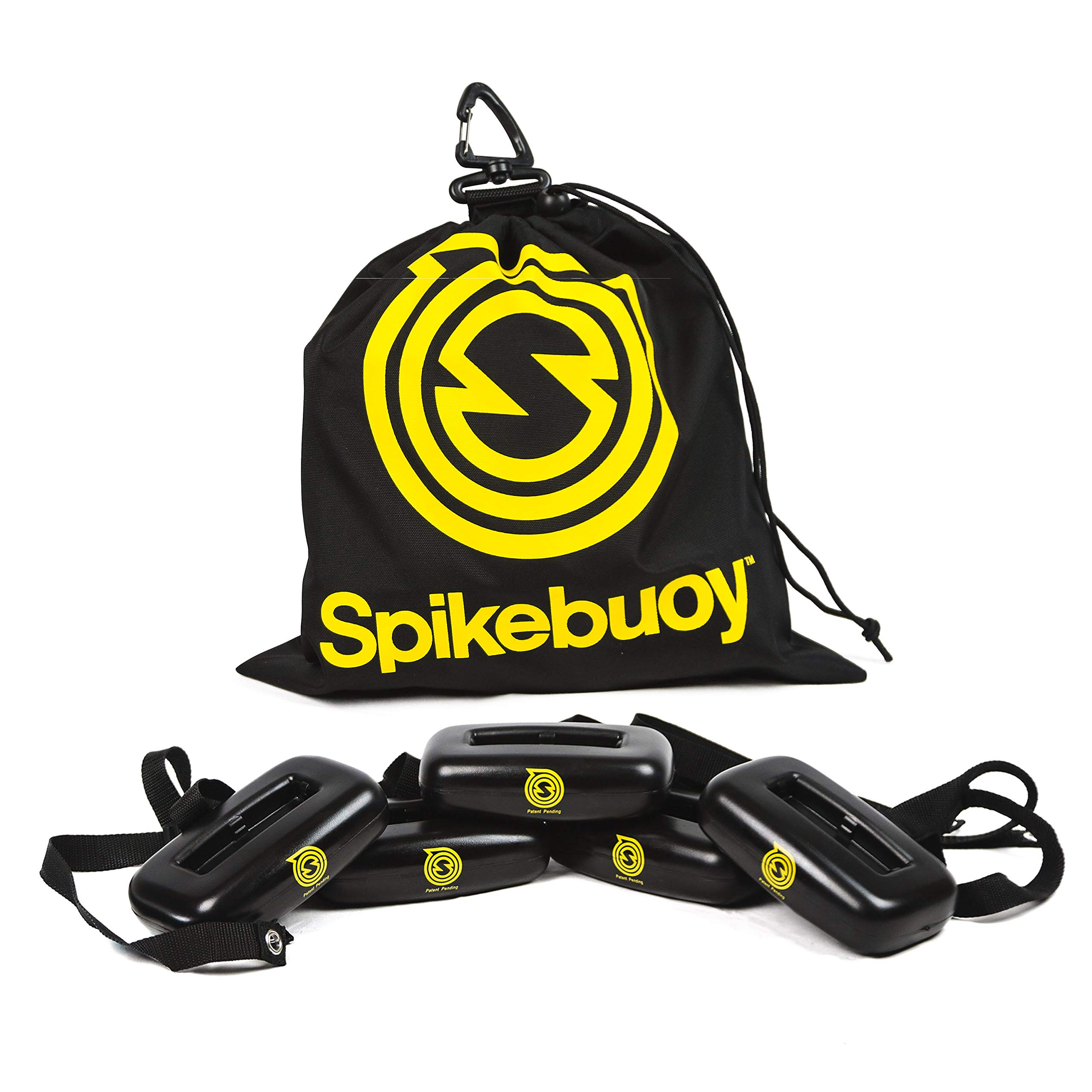 Spikebuoy - Spikeball on Water - Play in The Pool or at The Beach - Use with Standard and Pro Sets - Includes Leg Floats and Anchor Bag