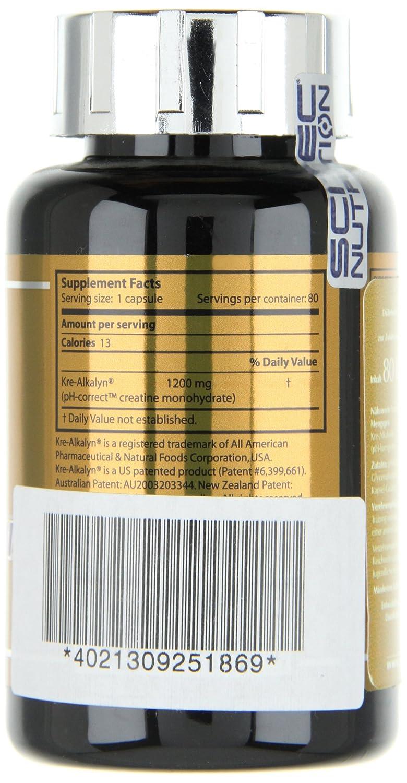 Scitec Nutrition Mega Kre-Alkalyn 80 Caps: Amazon.es: Salud y cuidado personal