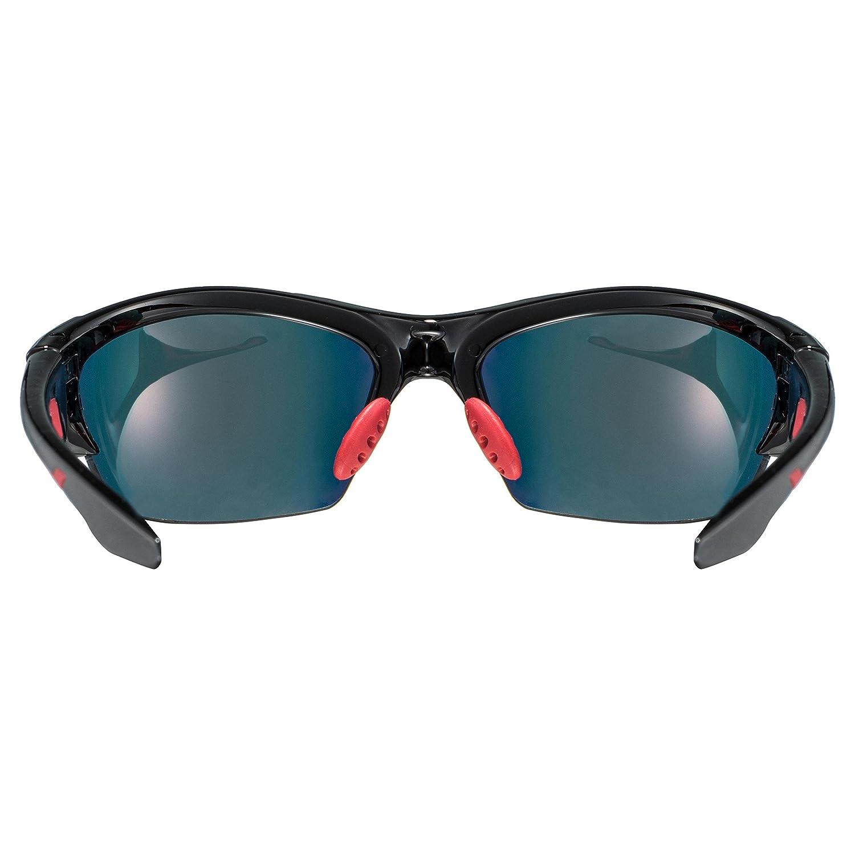 Uvex Blaze 3 Lunettes de sport Noir/Rouge BTLG19