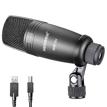 Neewer stimmliches Kondensatormikrofon mit Mikrofonhalter ...