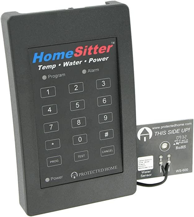 Control Products FreezeAlarm Homesitter Temperature, Water, Power Alarm HS-700 with voice message to up to 3 phone numbers / No monitoring fees