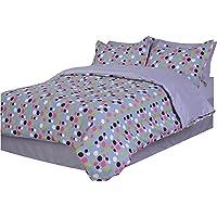 Divatex Dots Microfiber Full Bed in The Bag