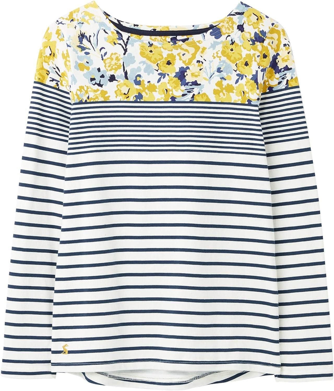 Joules Damen Harbour Print Langarmshirt