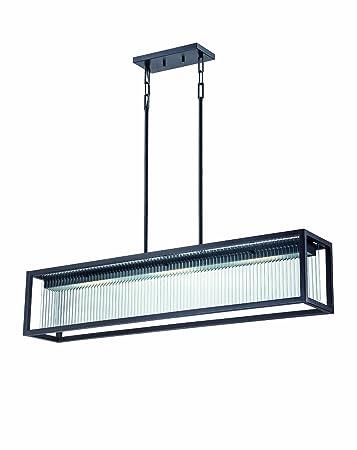 Nuvo Lighting Bin LED Three Light Island Pendant Watt - Three light island pendant