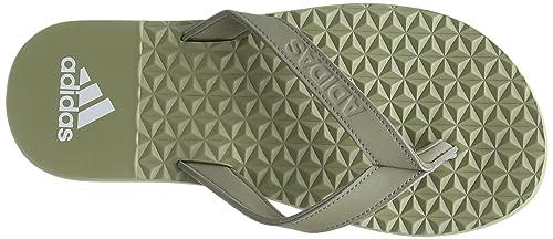 sale retailer cc381 b374a adidas Eezay Soft Chanclas Hombre, (Tech Beige F13Tech Beige F13Ftwr  White), 38 EU Amazon.es Zapatos y complementos