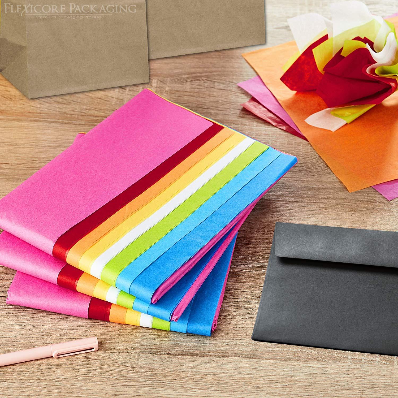 Amazon.com: Papel de seda para regalo, 15 x 20 pulgadas, 100 ...