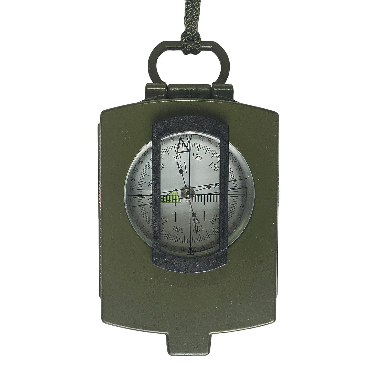 silfrae Marching Lensaticコンパスキャンプサバイバルコンパスミリタリーコンパスアウトドアサバイバルギア B072MJN79Y Professional|Army Green-Pro Army Green-Pro Professional