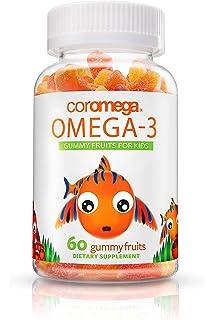 Omega-3, gomosos frutas a los niños, 60 de gominola Las frutas -