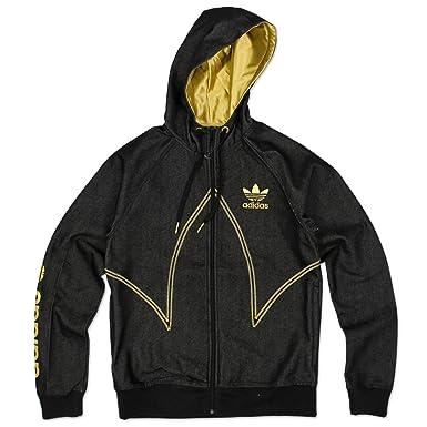 Adidas jacke schwarz gold manner
