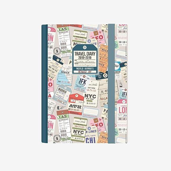 Legami AG160416 - Agenda foto 16 meses semanal con cuaderno pequeña ...