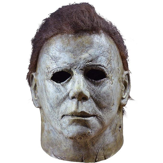 suche nach echtem modische Muster Beamten wählen Trick or Treat 2018 Halloween Michael Myers Mask-