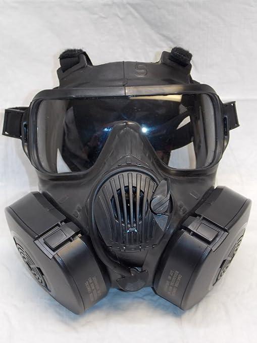Cbrn Cara Respirador Gas Avon Máscara De Completa Nbc M50 -