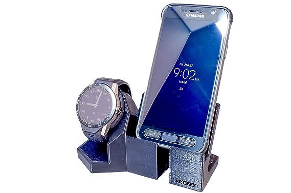 Tag Heuer Connected, Arti wh-107 Station de chargement pour TAG Heuer, nouvelle technologie 3D Imprimé, Smart Watch Cradle Jour Téléphone Combo: Amazon.fr: ...
