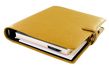 Image result for Finsbury a5 filofax yellow
