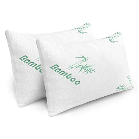 Amazon.com: Plixio Pillows for Sleeping - 2 Pack Cooling ...