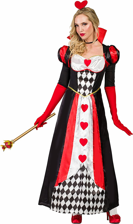 Kimokawaii Disfraz Reina de Corazones XL: Amazon.es: Juguetes y juegos